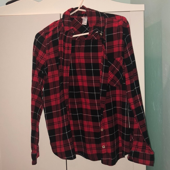 Forever 21 Tops - Plaid jacket